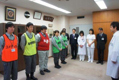 熊本地震に救護班を派遣します