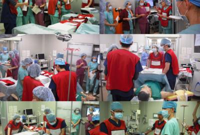 手術室の災害訓練を実施しました