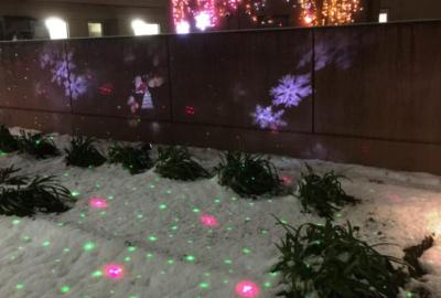 中庭はクリスマス仕様となりました【movie編】