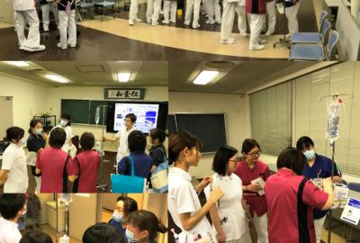 医療機器研修会を開催しました
