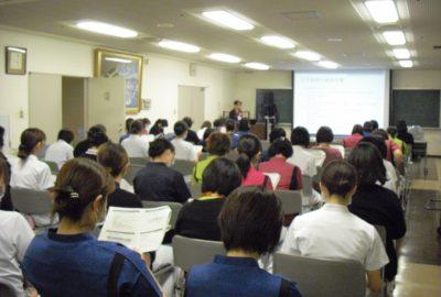 看護部感染予防対策全体研修会を開催しました
