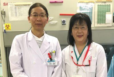 当院には「がん専門薬剤師」2名が在籍しています
