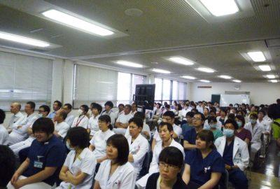 第1回医療安全・感染全体研修会を開催しました
