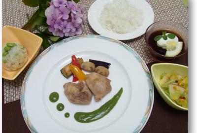 米沢栄養大学学生考案「バランス・減塩・地産地消」メニューの提供について
