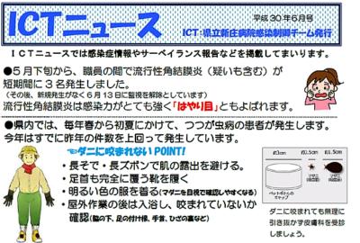 ICTニュース(平成30年6月号)を発行しました