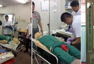 救急救命士の継続実習が始まりました