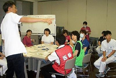 「災害学習会」を開催しました