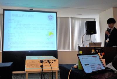 「girasolユーザー会」で 当院の職員が発表しました