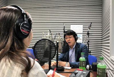 【当院の素敵な人々紹介⑥】ラジオ番組で当院の医師がお話しをします