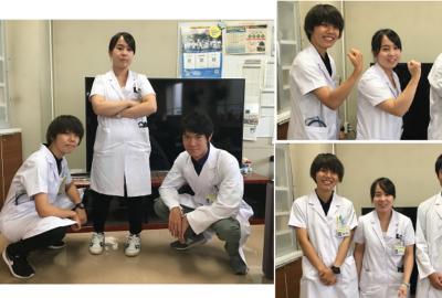 医学生が病院見学に訪れています Part2