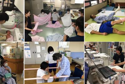 7名の中学生が職場体験学習に参加しました