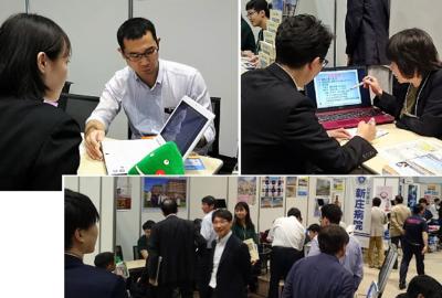 「民間医局 レジナビフェア 2019 仙台」に出展しました