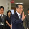大澤病院事業管理者が激励に訪れてくださいました