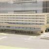 新病院の模型を展示しました