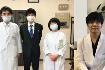 山本初期研修医が着任しました