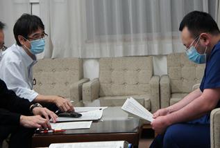 「院長と診療科との意見交換会」が始まりました