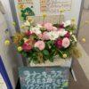 玄関のお花紹介(2月号)