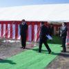 新病院敷地で安全祈願祭が執り行われました。
