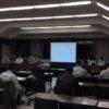 病院改築整備工事の説明会を開催しました。