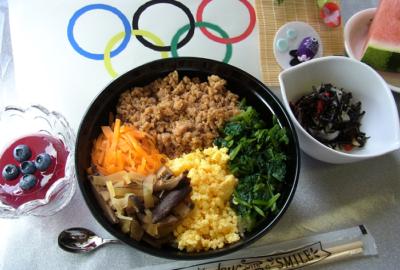 行事食の紹介(スポーツの日)